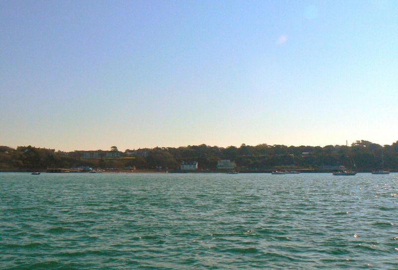 Totland Bay looking southeast